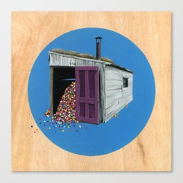 Sheds & Shacks   No:2 Canvas Print