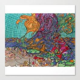 Streamline vision Canvas Print