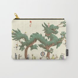 The Night Gardener - The Dragon Tree Carry-All Pouch