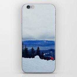 ski resort iPhone Skin