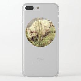 Nom nom Clear iPhone Case