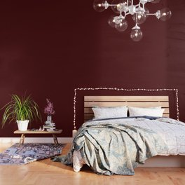 Simply Maroon Red Wallpaper