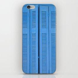 The Blue Window, Milos iPhone Skin