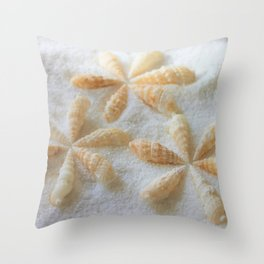 Seashells 4 Throw Pillow