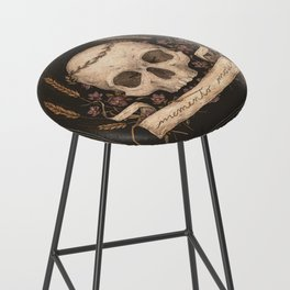 Memento Mori Bar Stool