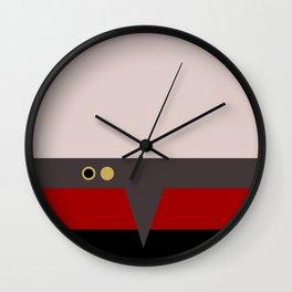 Tom Paris - Minimalist - Star Trek Voyager - Trektangle Trektangles - Delta Quadrant startrek Wall Clock