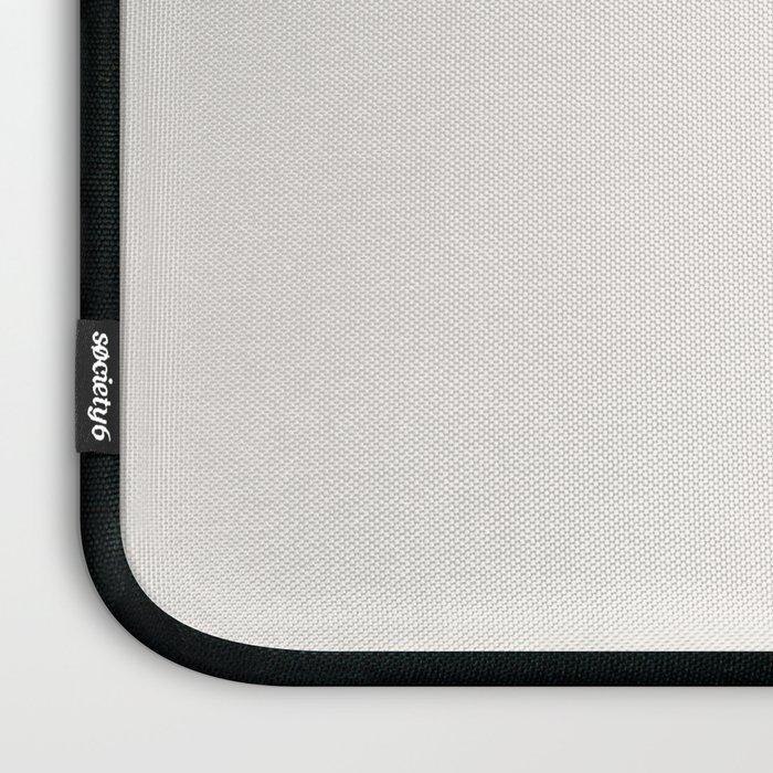 Inhale Exhale Pug Laptop Sleeve