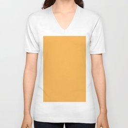 Pastel Orange Light Pixel Dust Unisex V-Neck