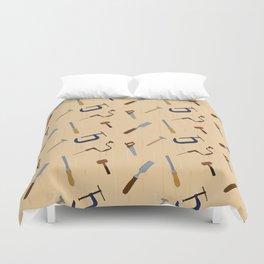 Wood shop Duvet Cover