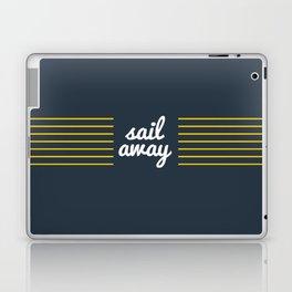 Sail Away Nautical Print Laptop & iPad Skin