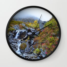 Independence Mine Waterfall Wall Clock