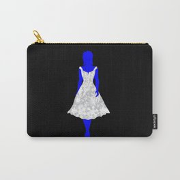 Snow Queen On Black Carry-All Pouch