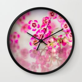 Quiet for a moment Wall Clock