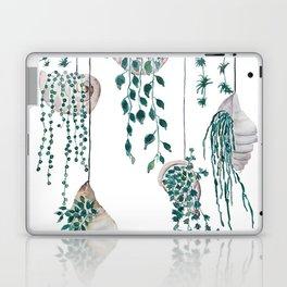 hanging plant in seashell Laptop & iPad Skin