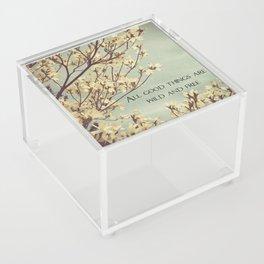 Wild & Free Acrylic Box