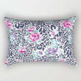 floral animal Rectangular Pillow