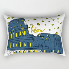 Rome Italy Rectangular Pillow
