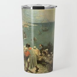 Landscape with the Fall of Icarus - Pieter Bruegel Travel Mug