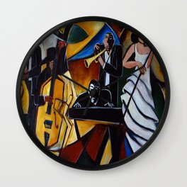 The Jazz Group Wall Clock