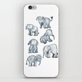 Little Elephants iPhone Skin