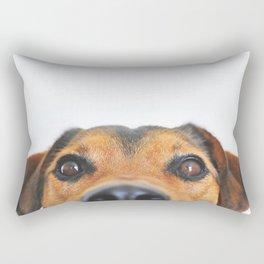 Aloof Woof Rectangular Pillow