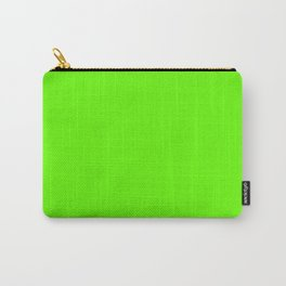 Bright Green Carry-All Pouch