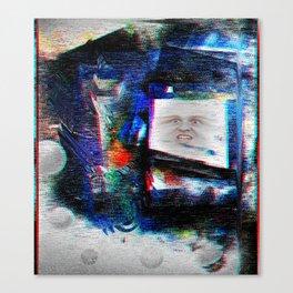 •[][The Screening][]• Canvas Print