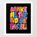 Make all the noise possible! by chrispiascik
