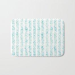 Arrow up aquatica pattern Bath Mat