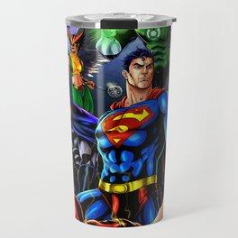 heroes all Travel Mug