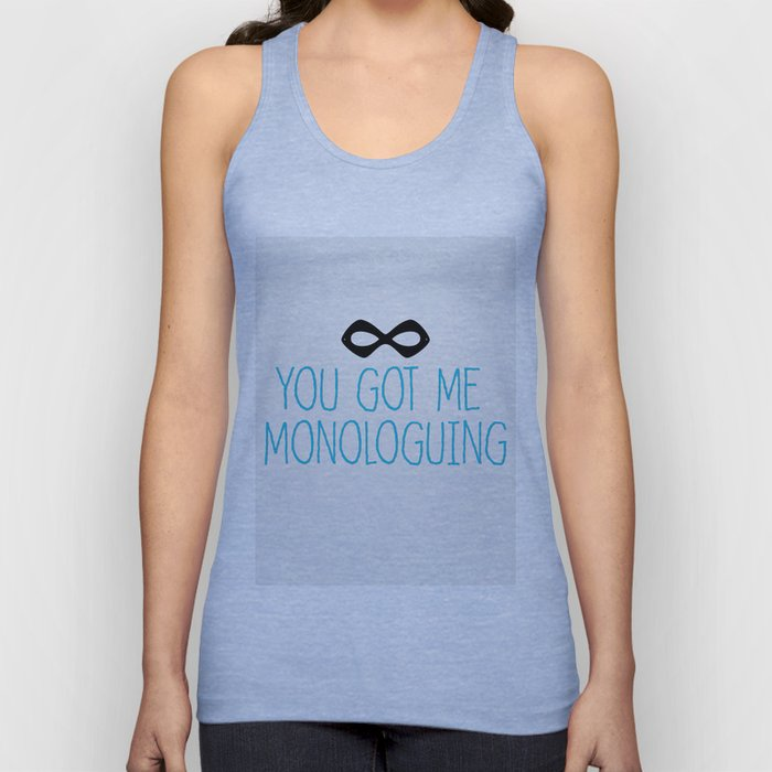 Syndrome Monologuing Unisex Tank Top