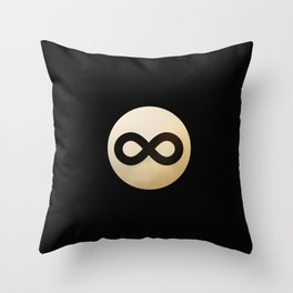 Infinity Ball Throw Pillow