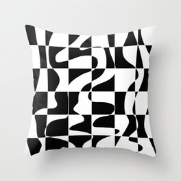 It's Not Always So Black And White Throw Pillow