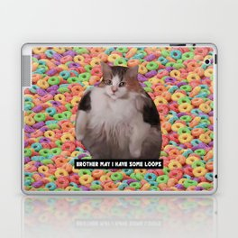Loops Brother Kitty Laptop & iPad Skin