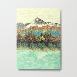 The Unknown Hills in Kamakura Metal Print