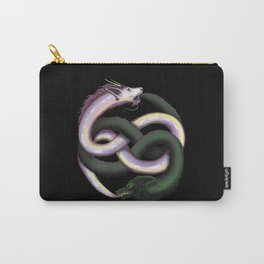 Wolf and Dragon Carry-All Pouch