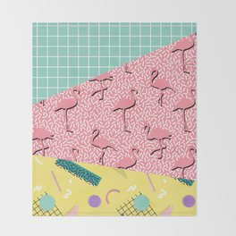 Dreaming 80s #society6 #decor #buyart Throw Blanket