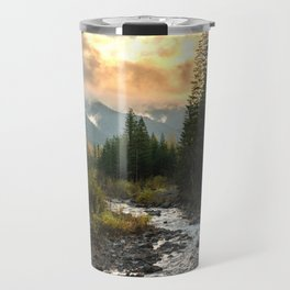 The Sandy River I - nature photography Travel Mug