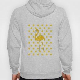 Yellow Flamingo  - Bird Hoody