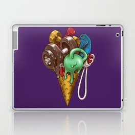 Ice Cream Workout Laptop & iPad Skin