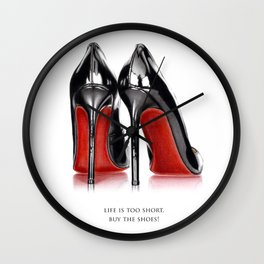 High heels Wall Clock
