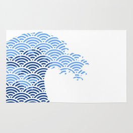 Japaneese Wave Rug