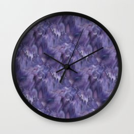 Drifted Paint Wall Clock