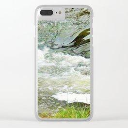 Stream, Hunua Falls, NZ Clear iPhone Case