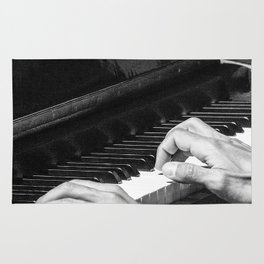 Play the Piano Rug