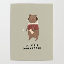 William Shakesbear Poster