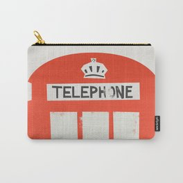 Red London Telephone Box Carry-All Pouch