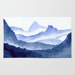 Foggy Mountains Rug