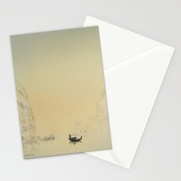 Venice, Salute from Accademia. Stationery Cards