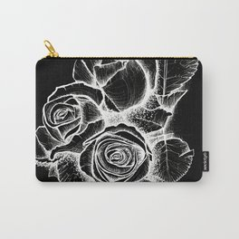 Inverse Roses Carry-All Pouch